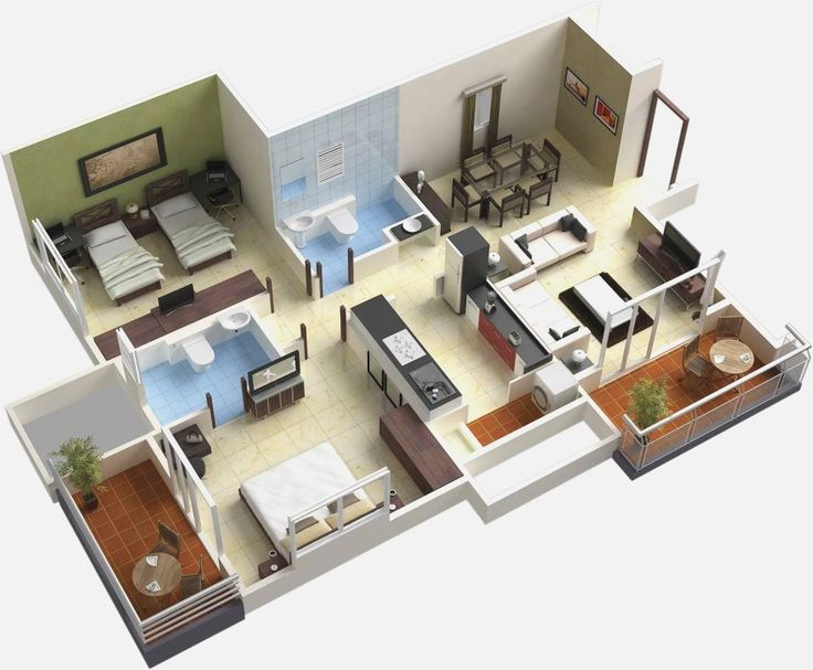 111 best floor plans images on pinterest home plans for Small house plans for sale
