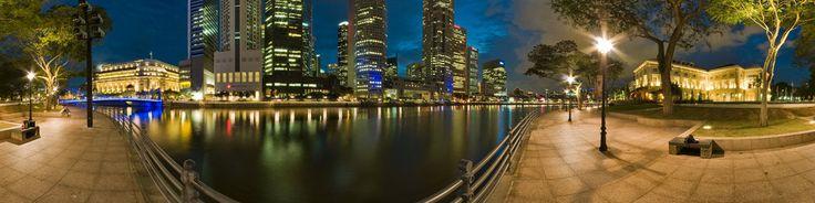 Singapore Boat Quay. Where the history of Singapore began.