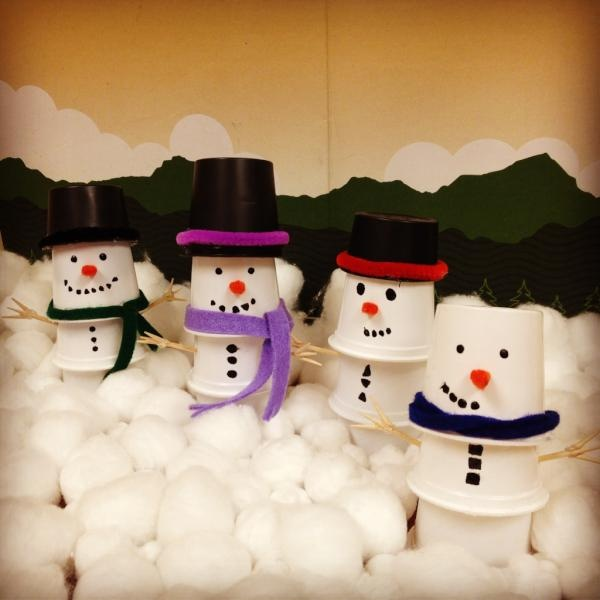 K Cup Snowmen If I M Ever Feeling Crafty Pinterest K Cup