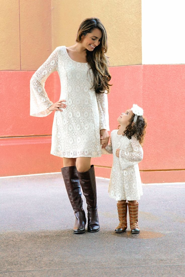 How darling are these mommy and me dresses? #beinspiredboutique
