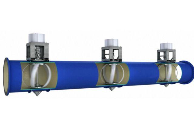 Sistema transforma consumo de água em eletricidade