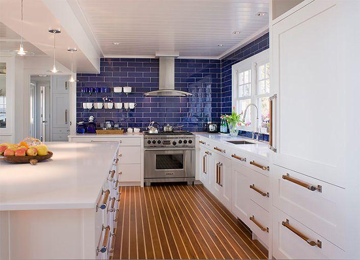 Cozinhas azuis