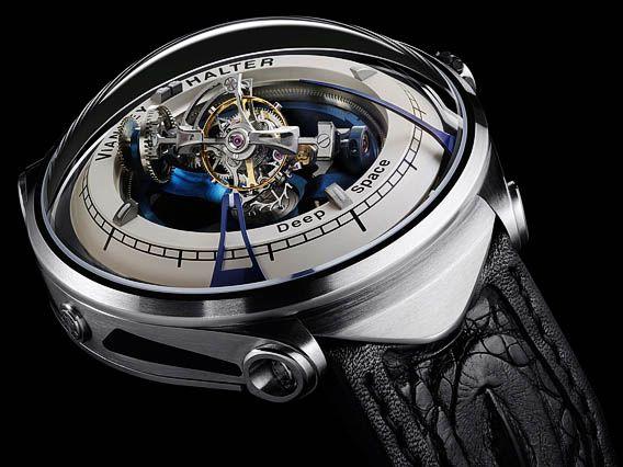 Montre Vianney Halter Deep Space Tourbillon - Un instrument du temps pour les explorations dans l'espace lointain - Prix de l'Innovation au XIIIe Grand Prix d'Horlogerie de Genève