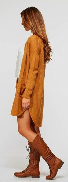 Adorable sunny day style fashion in Brown