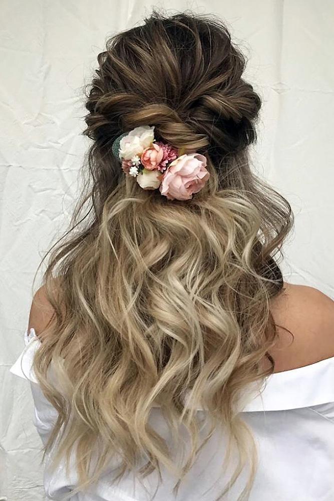 Wedding Hairstyles 2020 2021 Fantastic Hair Ideas Messy Wedding Hair Wedding Hairstyles For Long Hair Hair Lengths