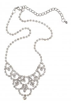 Small Ornate Crystal Necklace ($12.95) from colettehayman.com.au