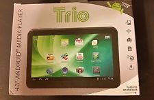 """New Trio Stealth Lite 4.3"""" Android Media Player - 4GB"""