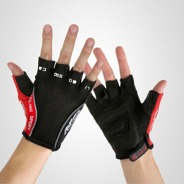 GZDL Cycling Half Finger Gloves MTB Mountain Bike Bicycle Fingerless Silicone GEL Guantes Ciclismo Road Racing Luvas MTB9359