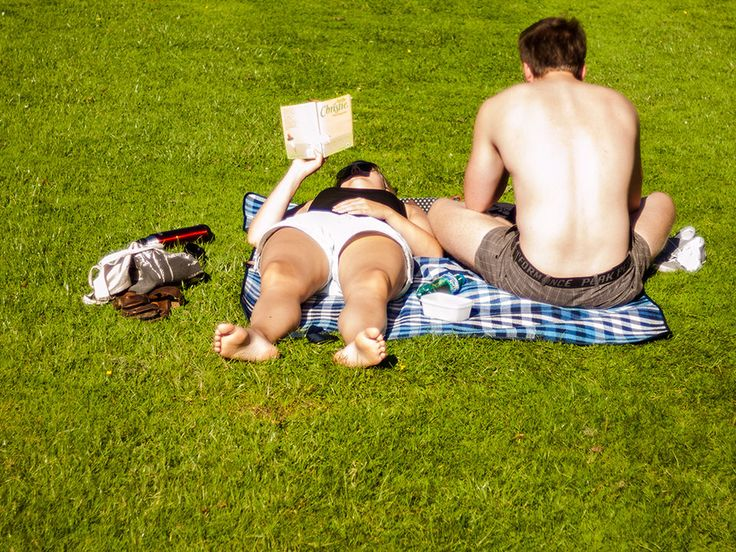 The front and the back, the limits of a book #photography #streetphotography #reading #books #grass #magazine #newspaper #park #literature Reading Sweden - Marxal