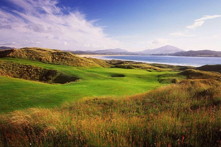 SHL #5 green, Star Golf Hotel Donegal, Golf Hotels Donegal, Golf Resort Donegal, Donegal Golf Resort, Golf Breaks in Donegal