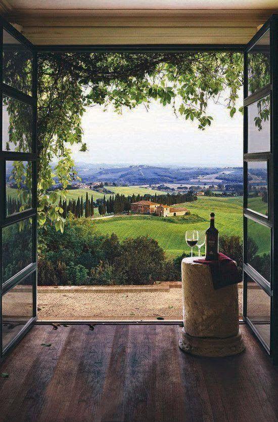 Tuscany... We'll go
