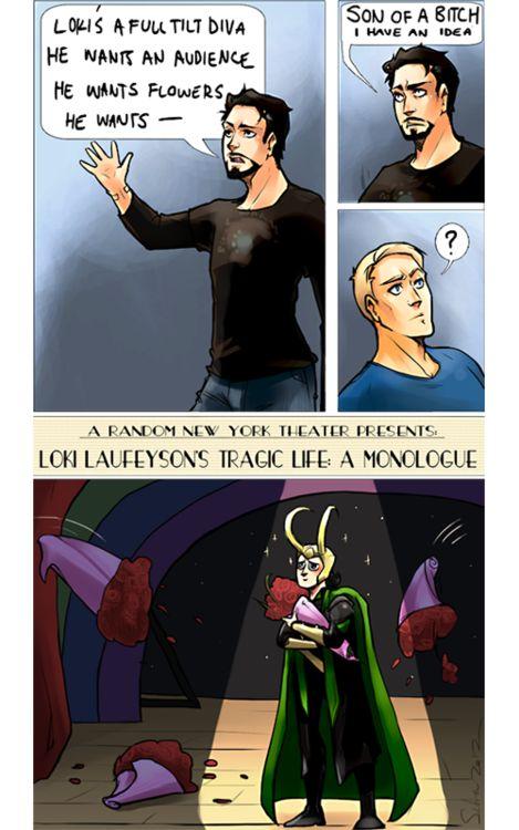 Tony figures out how to stop Loki.Big Divas, Fandoms Fun, Nerdy Time, The Avengers Art, Nerdy Awesome, Fangirl Art, Nerdy Side, Lokitom Hiddleston, Lokitom Mania