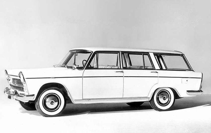 Fiat 1800 B familiare 1961 - 1963