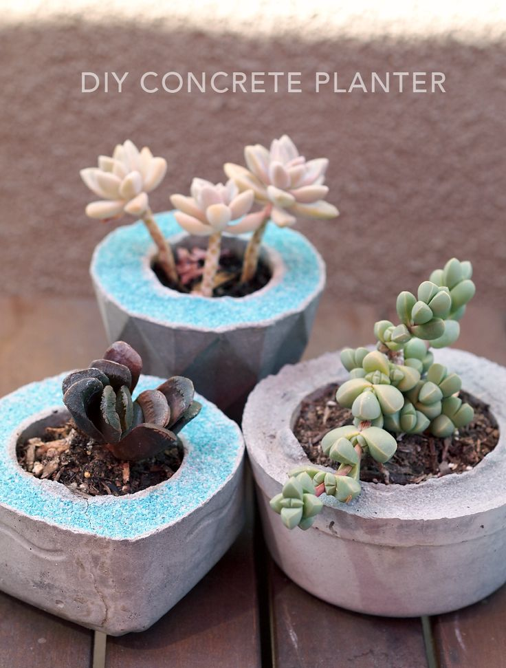 Simple DIY planter, great for Mother's Day gift idea