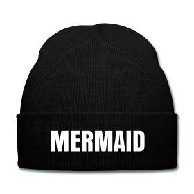 Mermaid Beanie - Available Here: http://sondersky.spreadshirt.com.au/mermaid-A18464252
