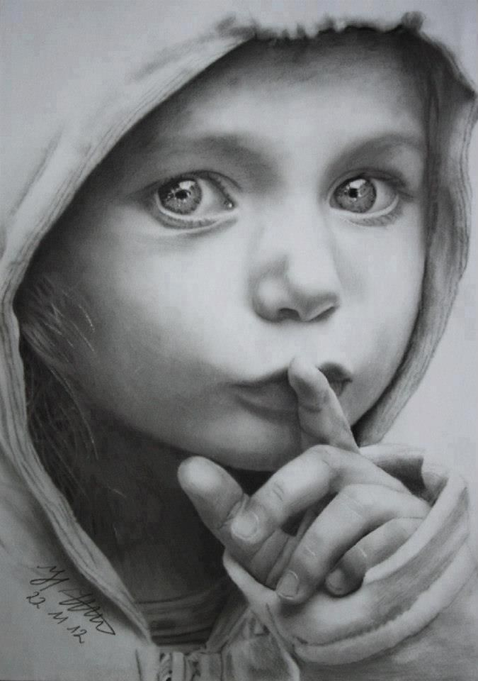 Pencil drawing by Hermann Ittermann (Germany)