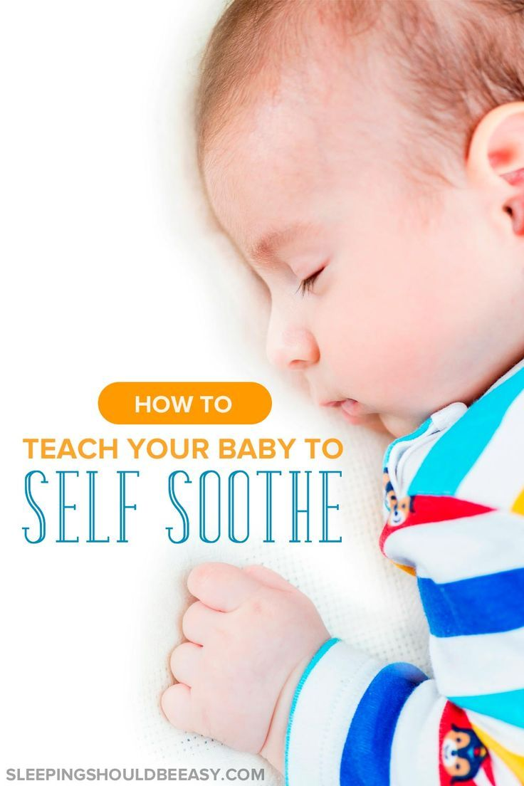 Frustrated when your baby doesn't fall asleep on his own? Learn how to teach your baby to self soothe to sleep with these effective techniques.