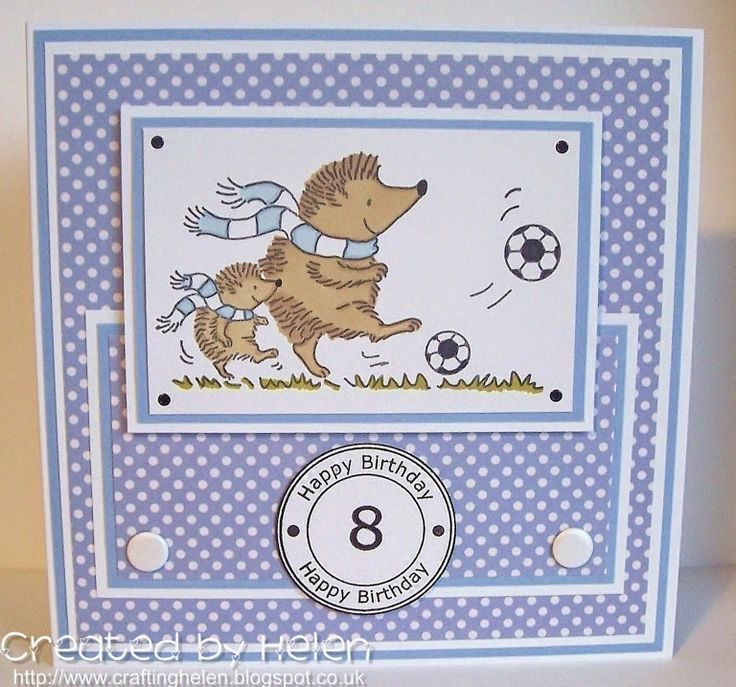 Using 'Footballing Hedgehogs' from Little Claire