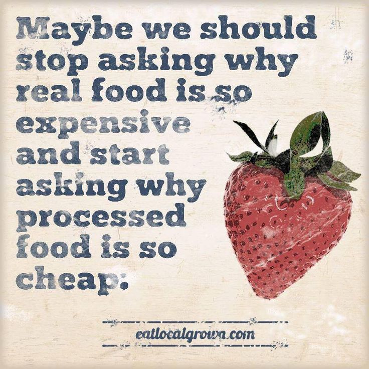 I just learned about how expensive real food is in the US. I'm shocked!!