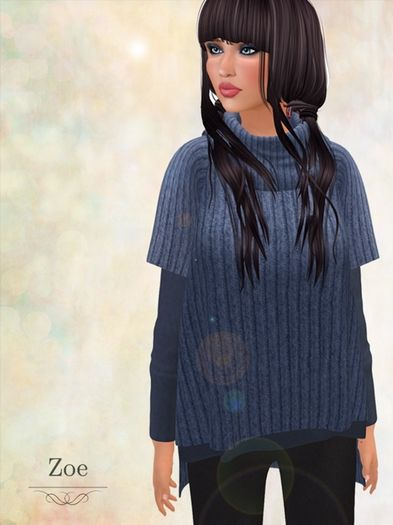 Pacifica Fashion - Zoe Mesh Sweater | Kitely