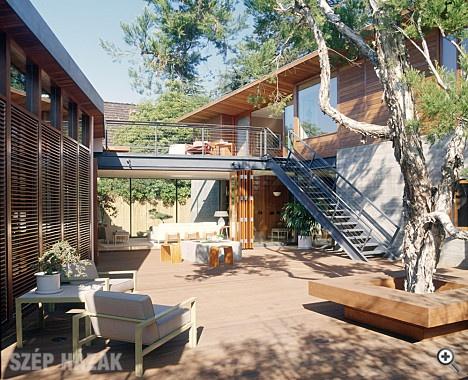 Modern country house in Santa Monica  http://www.szephazak.hu/csaladi-haz/modern-videki-haz-santa-monica-n/464/#