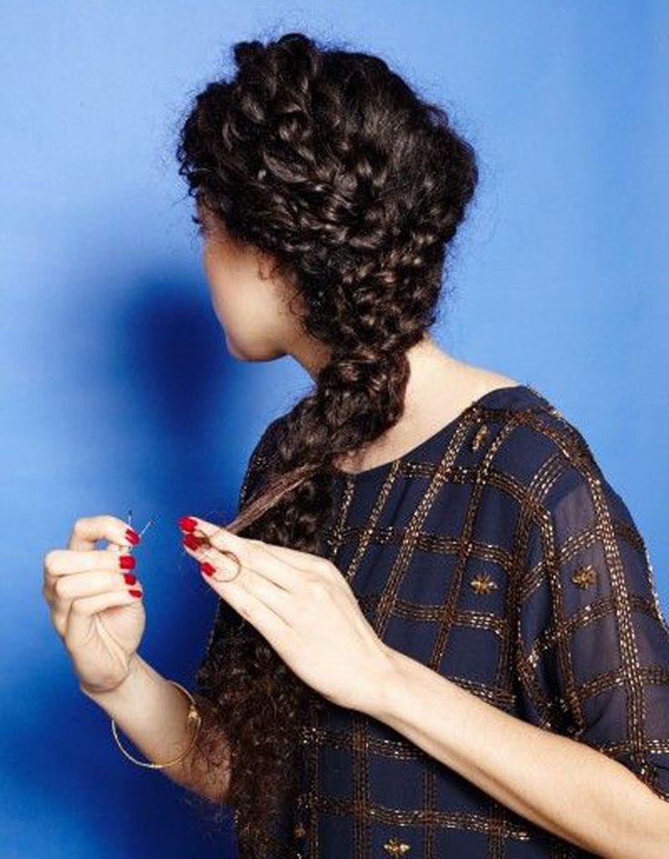 Tresse pour Cheveux bouclés