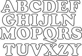 .Mimos da Lene: Moldes de letras diversos... Mais