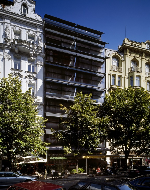 Metropol Hotel Prague / Prague / Chech Republic  Architect: Chalupa architekti + d u m architekti  From ArchiTeam  http://www.architravel.com/  Národní 1036/33, 110 00 Prague - Old Town