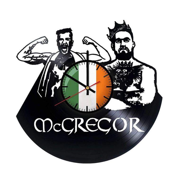 Conor McGregor World Tour Vinyl Record Wall Clock FD0014