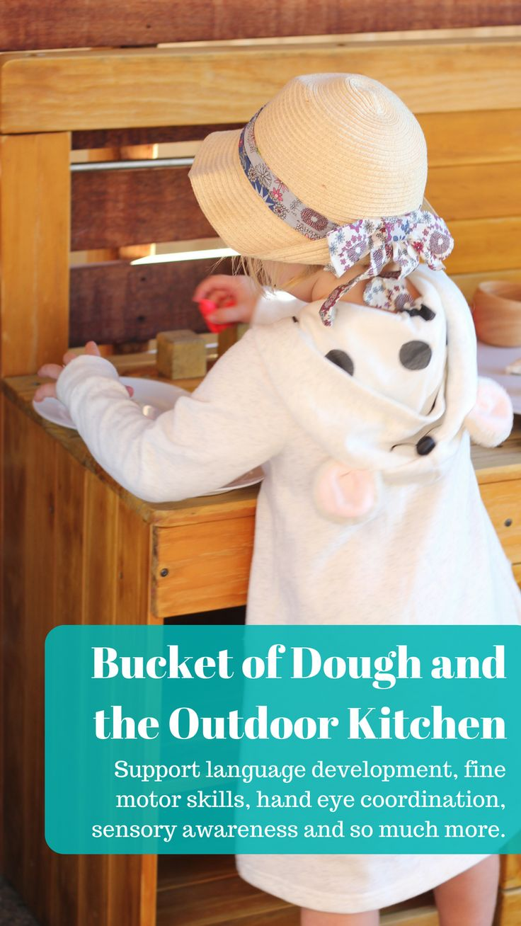 Dough is a childhood staple and when combined with dramatic play, all kinds of learning opportunities arise. From language development, fine motor skills, hand eye coordination, sensory awareness and so much more. The Bucket of Dough is a childhood staple that should not be overlooked! Combining dough play with dramatic play, gives your child the perfect platform to practise and reenact what they see their parents or carers do in a safe and supportive environment. Read more...