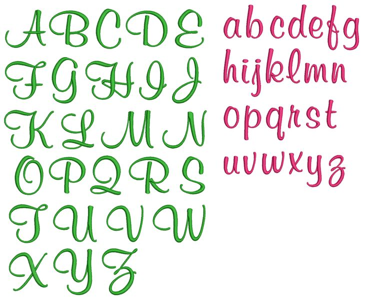 Pretty alphabet fonts google search all about tattoos for Girly font tattoo