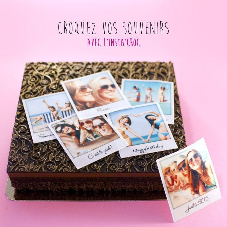 Insta'Croc, croquez vos meilleurs souvenir, en feuille sucre ou azyme pour décorer vos gâteaux