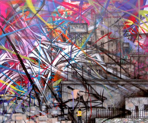 Gilgamesh & Beautification #patternpulp: Galleries, Beautification Patternpulp, Street Art, Los Angeles, Artists Anime, Artist Nyc, Know, Graffiti Artists