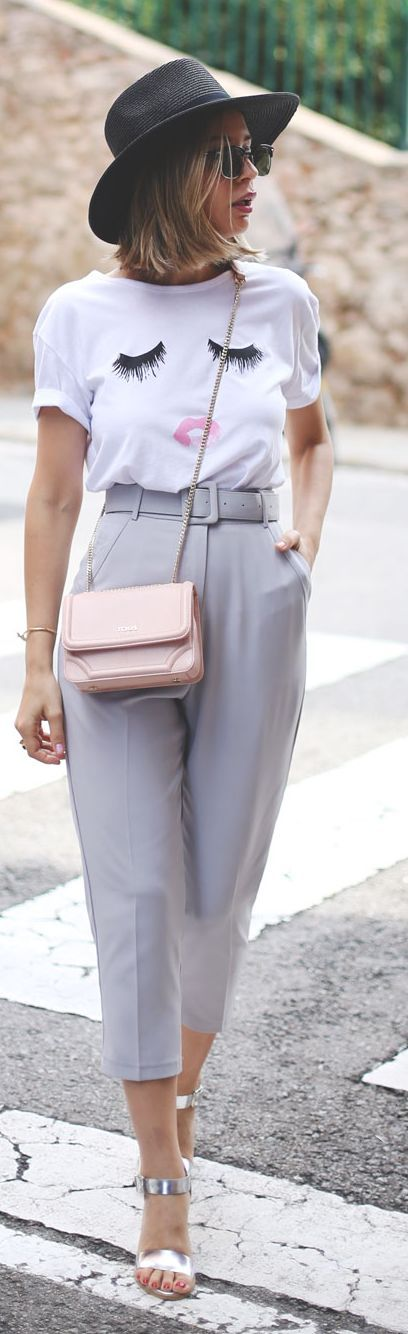 Grey Pants Fall Inspo by My Showroom Blog