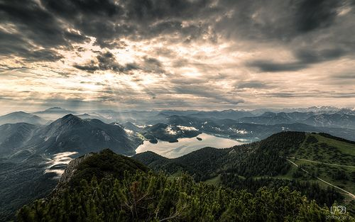 Herzogstand ~  Morning Light