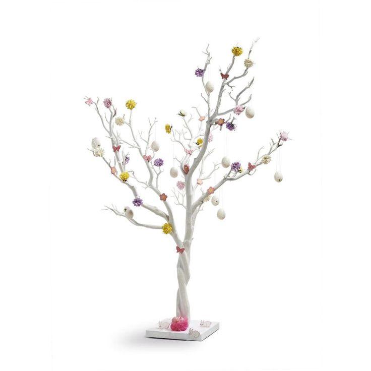 Decorative Twig Tree White 104Cm   Hobbycraft