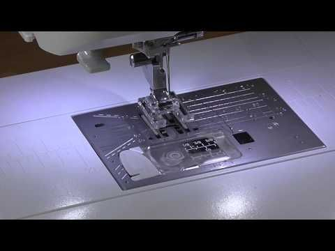 Applique Menu on the Janome Skyline S7 - YouTube