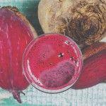 Chocolade smoothie met rode biet, appel, banaan, plantaardige melk | Eat.Pure.Love