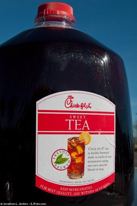how to make a gallon of sweet tea