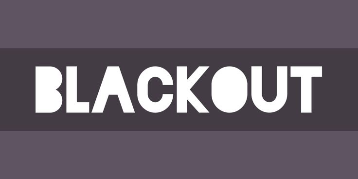 Blackout Font Free by The League of Moveable Type » Font Squirrel
