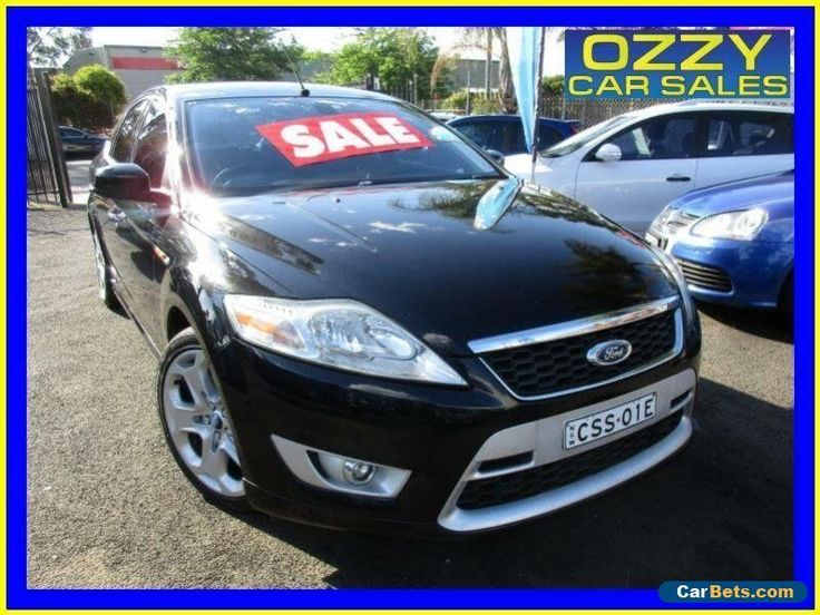 2008 Ford Mondeo MA XR5 Turbo Black Manual 6sp M Hatchback #ford #mondeo #forsale #australia