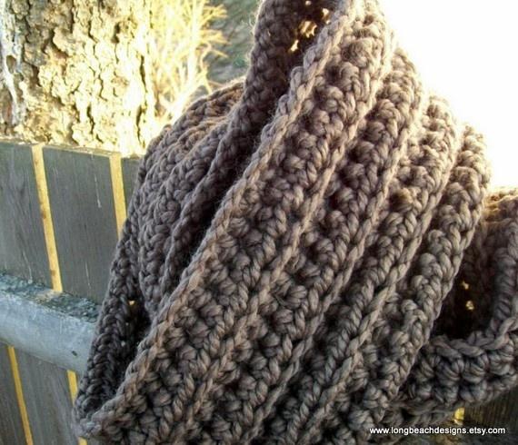 Die 9 besten Bilder zu crowl scarfs to crochet auf Pinterest ...