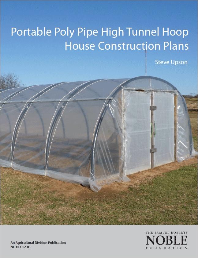 Diy hoop house conduit