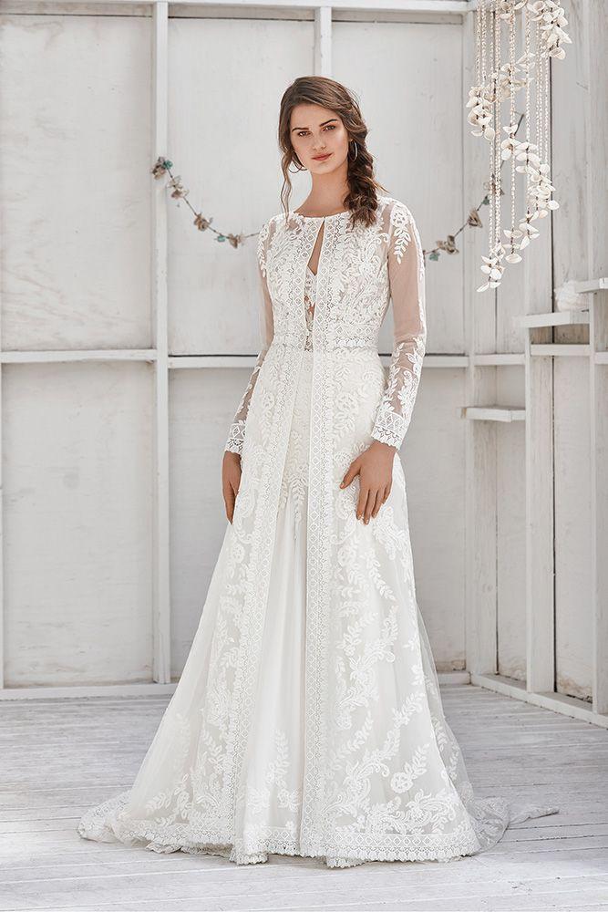 Lillian West Kollektion 2019 Brautkleiderspitze Brautkleider
