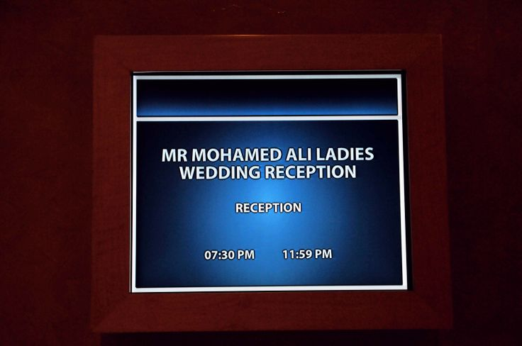 """"""" Al Ameera BallRoom """"  welcomed the guests under the """"Groom Name"""", it was his day too :)"""