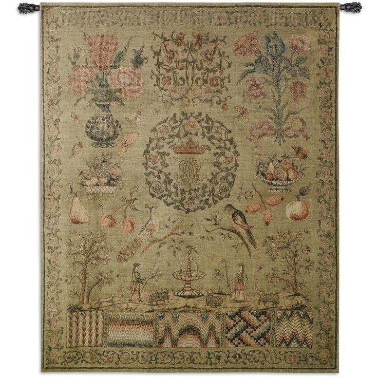Fine Art Tapestries Sampler I Wall Tapestry