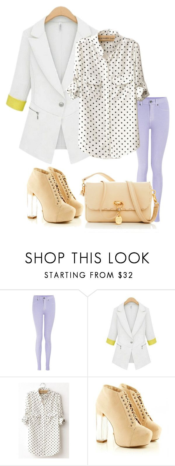 """""""Invite friends to wish"""" by oasap ❤ liked on Polyvore featuring Dr. Denim and Henri Bendel"""