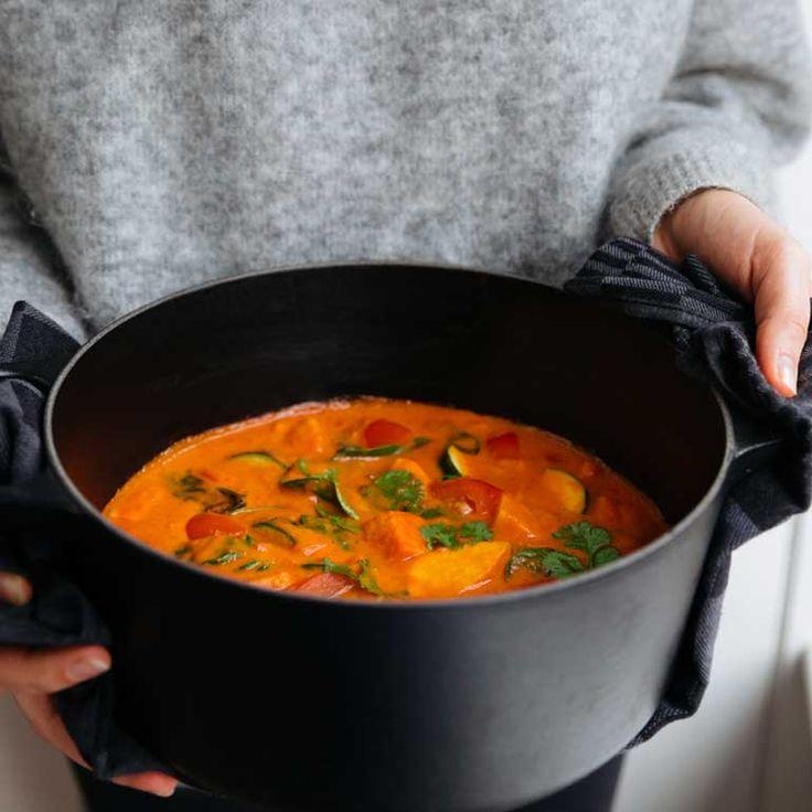 Zoete-aardappelstoofpot - Ingredienten Jamie Oliver