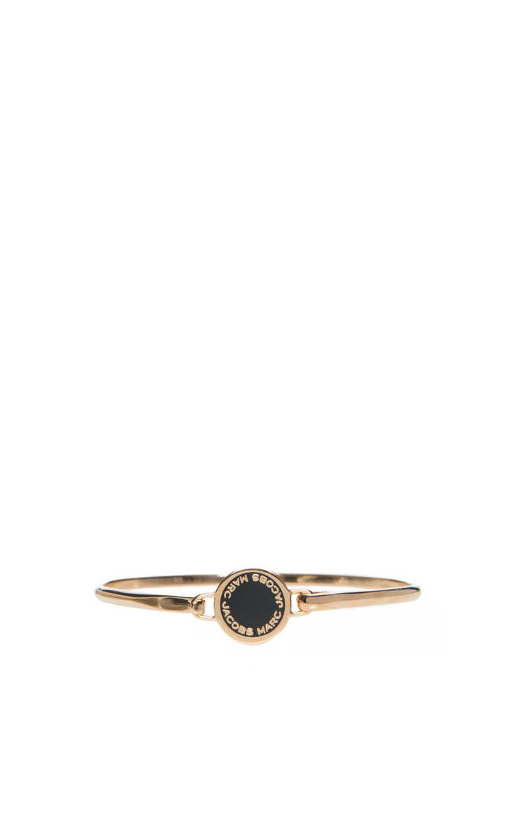 Armband Logo Disc BLACK/GOLD - Marc Jacobs - Designers - Raglady
