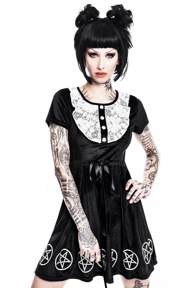 Killstar Minikleid Velvet Quinn
